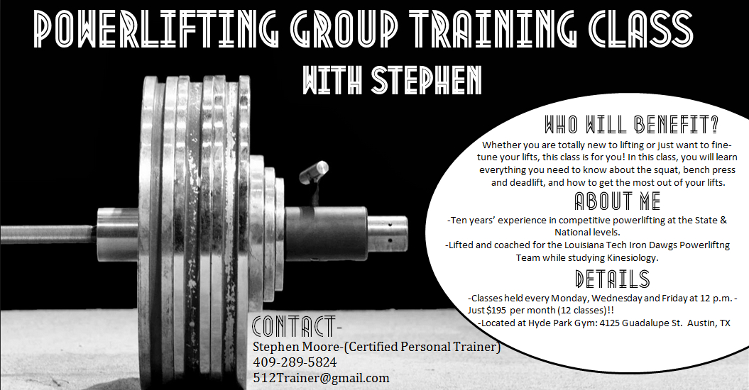 stephen moore powerlifting